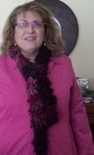 Diane in new scarf 10-26-12 102712183854